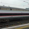 Enterprise De Dietrich standard class carriage no. 9201 in the consist of the 11:20 to Belfast leaving Dublin Connolly.