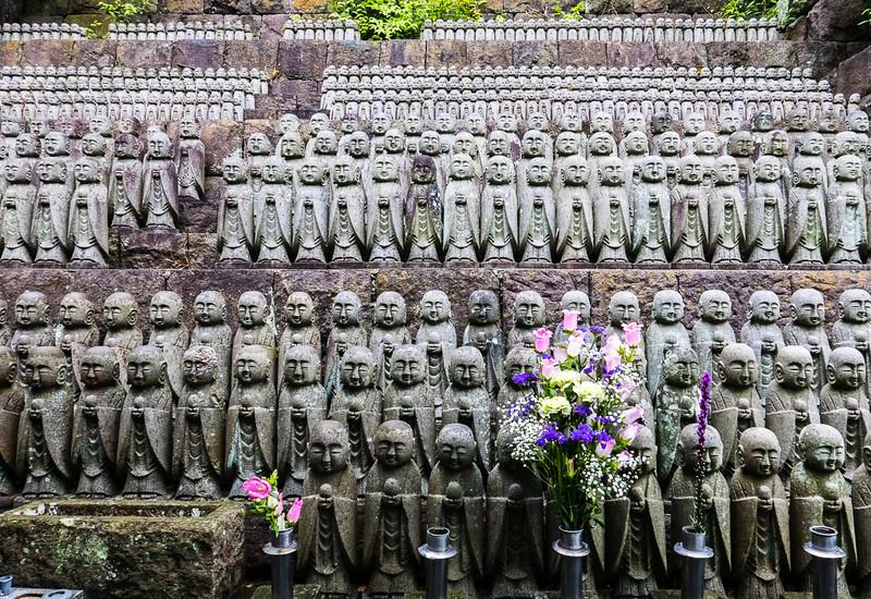 Jizõ  statues