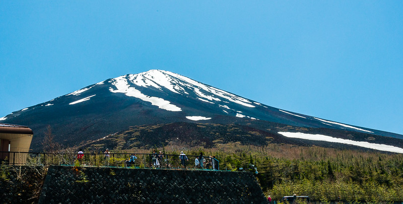 Mt Fuji from the 5th station