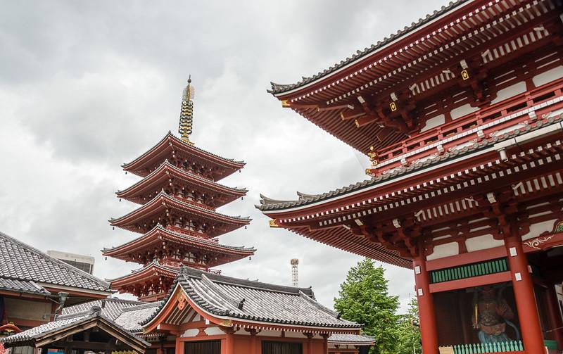 Asakusa Kannon Temple Area