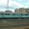 Anglia Railways liveried Class 86 no. 86246 at Willesden depot.
