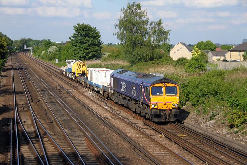 66726 Worting Junction 26/05/16 6Y42 Hoo Junction to Eastleigh