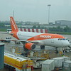 EasyJet Airbus A319 G-EZBY at Birmingham Airport with my flight to Belfast.