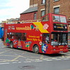 Tappins open top Volvo B7TL Plaxton President PJ53NKC in Oxford on the City Sightseeing tour.