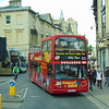 Tappins open top Volvo B7TL East Lancs PO56JEJ 56 in Oxford on the City Sightseeing tour.