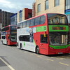 National Express West Midlands Enviro 400 BX61LLU 4847 in Birmingham on the 33 to Pheasey.