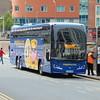 Megabus Volvo Plaxton Elite-i YX63NHB 54215 in Birmingham on a service to Newcastle.