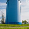 JOED VIERA/STAFF PHOTOGRAPHER-Lockport, NY-The water tower at Outwater Park.