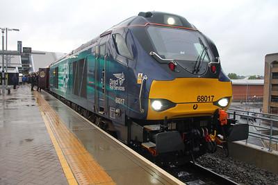 68017 Reading 21/05/16 1Z28 Carmarthen to London Paddington