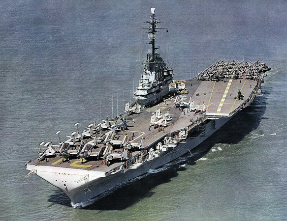 USS Bonhomme Richard (CVA-31) the former home of the Light Photographic Squadron 63