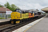 25 May 2016 :: The going away view of 37254 + 37175 on 0Z37 at Basingstoke
