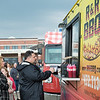 JOED VIERA/STAFF PHOTOGRAPHER-Pendleton, NY- Foodies order from R&R BBQ during Food Truck Night at Starpoint High School.