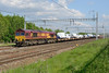 26 May 2016 :: 66086 leads 6X44 from Dagenham to Didcot as it passes Lower Basildon