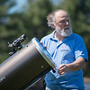 JOED VIERA/STAFF PHOTOGRAPHER-Wilson, NY- Steve Smith assembles his telescope .