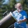 JOED VIERA/STAFF PHOTOGRAPHER-Wilson, NY- Steve Smith assembles his telescope .
