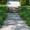 JOED VIERA/STAFF PHOTOGRAPHER-Lockport, NY-A lawn outside of a Walnut Street home grows.