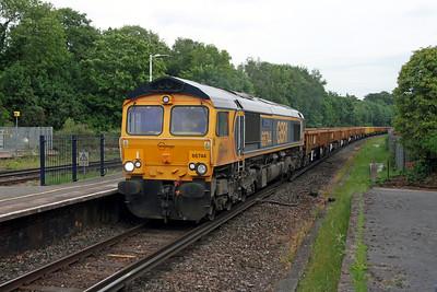 66744 Micheldever 30/05/16 6Y43 Eastleigh to Hoo Junction