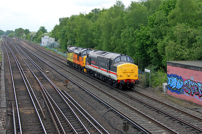 37254 Worting Junction 25/05/16 0Z37 Eastleigh to Barrow Hill