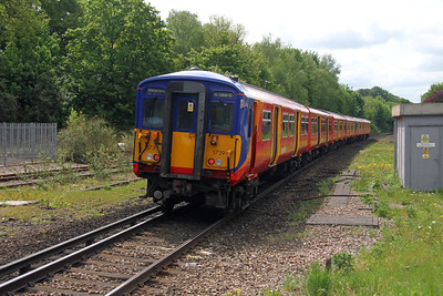 455739 Micheldever 19/05/16 5B39 Wimbledon to Bournemouth