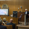 JOED VIERA/STAFF PHOTOGRAPHER-Lockport, NY- Pastor Steve Antin speaks on the history of National Day of Prayer during a ceremony that took place at the common council chambers.