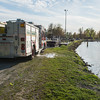 JOED VIERA/STAFF PHOTOGRAPHER-Lockport, NY-Rapids Volunteer Fire Company tests a pump at Widewaters Marina.