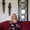 JOED VIERA/STAFF PHOTOGRAPHER-Lockport, NY- Karen D'Angelo sits in her home.