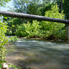 JOED VIERA/STAFF PHOTOGRAPHER-Lockport, NY-A view of Eighteen Mile Creek behind the superfund site.