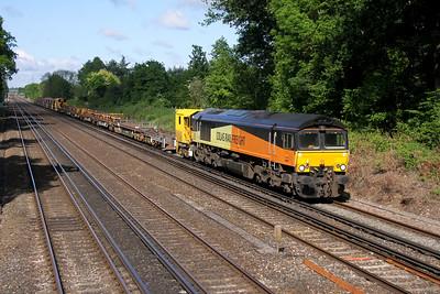 66847 Old Basing 23/05/16 6Y48 Eastleigh to Hoo Junction