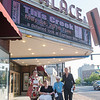 "JOED VIERA/STAFF PHOTOGRAPHER-Lockport, NY-Sarah Glann, Dr. Tammy Milillo, Shirley Nicholas and Tanya Stadelmann outside the Palace Theatre before their screening of ""This Creek""."