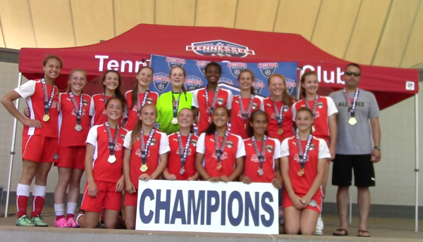 May 7-8: Hailey's FC Alliance Wins TNI in Nashville; Quinn at Sounds Game