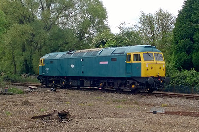 47367 runs round in the loop at Wymondham Abbey after working the 0940 from Dereham on the first day of the Mid Norfolk Railway's 'Stratford Depot Weekend' (21/05/2016)