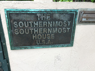 Right next to the southernmost point.