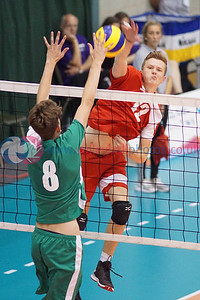 2016 School Games, Sir David Wallace Sports Hall, Loughborough University, Thu 1st Sep 2016.  © Michael McConville   http://www.volleyballphotos.co.uk/2016/Misc/20160901-uksg