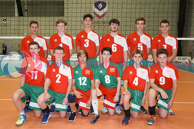 Wales Boys, 2016 School Games, Sir David Wallace Sports Hall, Loughborough University, Thu 1st Sep 2016.  © Michael McConville   http://www.volleyballphotos.co.uk/2016/Misc/20160901-uksg