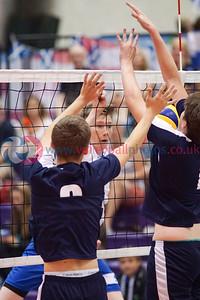 2016 School Games, Sir David Wallace Sports Hall, Loughborough University, Sat 3rd Sep 2016.  © Michael McConville   http://www.volleyballphotos.co.uk/2016/Misc/20160903-uksg