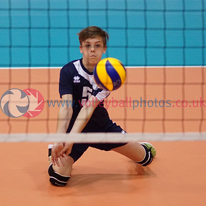 2016 School Games, Sir David Wallace Sports Hall, Loughborough University, Sun 4th Sep 2016.  © Michael McConville   http://www.volleyballphotos.co.uk/2016/Misc/20160904-uksg