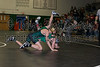 Indiana Crossroads Conference wrestling Tournament  at Branch McCracken Gym in Monrovia, IN.  Photo by Eric Thieszen.