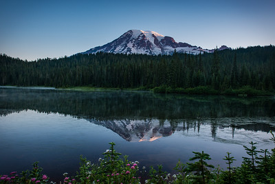 Sunrise on Reflection Lake