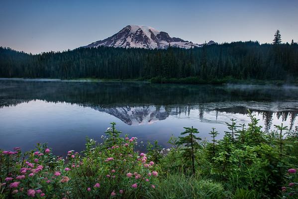 Sunrise on Reflection Lake