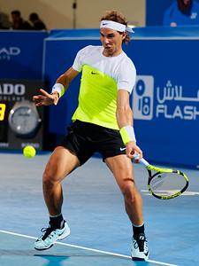 01.02c Rafael Nadal - Mubadala WTC 2016