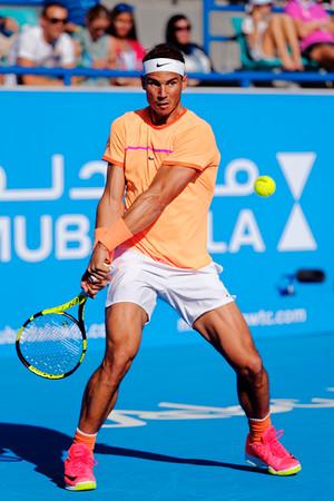 01.01 Rafael Nadal - Mubadala WTC december 2016