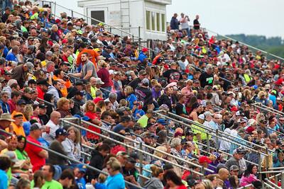 Muskingum County Speedway crowd