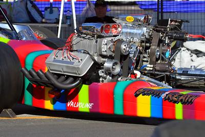 The legendary Dunn & Reath Top Fuel Slingshot