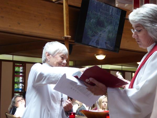 Nancy's Ordination