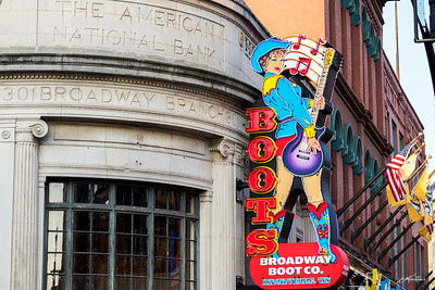 Broadway Street, Nashville