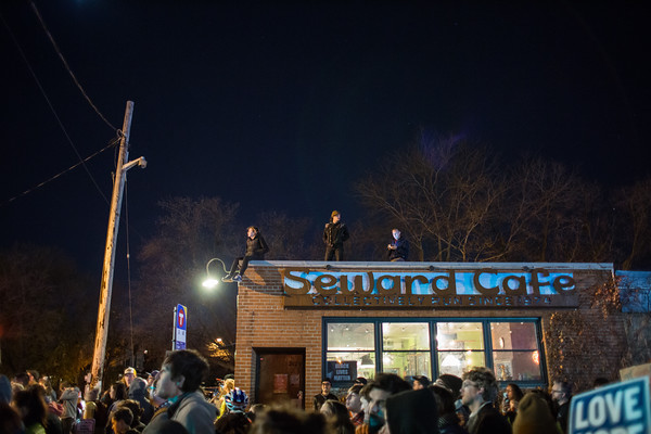 No Trump Protest, Minneapolis, November 10 2016
