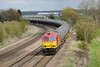 26 April 2016 :: 60017 trundles past New Barnetby leading 6M00 from Humber to Kingsbury
