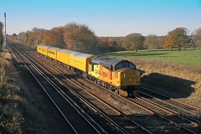 37175 Potbridge 28/11/16 3Z09 Eastleigh to Hither Green
