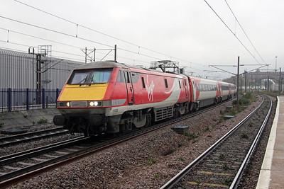 91125 Hornsey 21/11/16 1Y82 York to Kings Cross