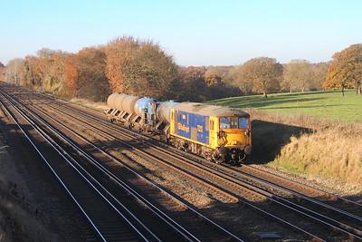 73213 Potbridge 28/11/16 3W10 Eastleigh to Tonbridge